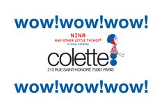 Nina and other little things®: ♥ Nina @Colette Paris