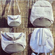 @atelier_sable_noir sur Instagram: Ancienne cousette: sac #sacotinlimbo de @patrons_sacotin en simili autruche argent et lin lamé argent de @lamerceriedescreateurs enduit à…