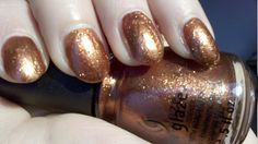 """Harvest Moon"" nail polish by China Glaze (Hunger Games Collection, ""Capitol Colours"")"