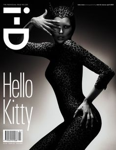 i-D #230: the Individual Issue. Kate Moss by Mert Alas & Marcus Piggott.