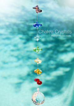 Chakra Crystals: Crystal Sun Catcher Art