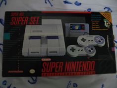 Super NES - I was so excited about getting one of these, and about getting Zelda: LttP.