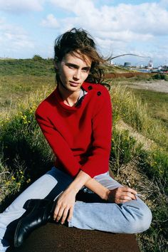 Marine Vacth for M Le Monde, October 2015.