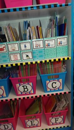 Guided Reading labels and Book Bin Labels  Created by Alma Almazan