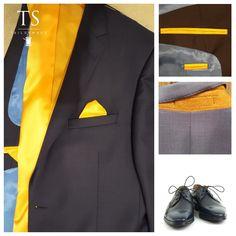Zonnige accenten in jouw eigen Tailormade kostuum!