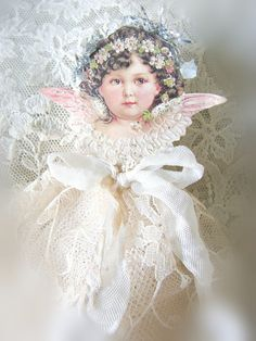 Where nostalgia and romance meet ...: Christmas Angels for the tree ...
