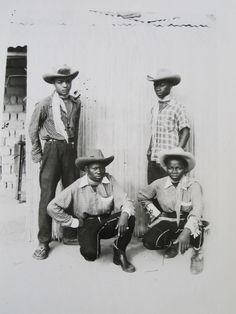 ・゚ - criticalmera: Jean Depara - Les cowboys du. Black Cowgirl, Black Cowboys, Cowboy And Cowgirl, Real Cowboys, Black Like Me, Black Is Beautiful, Black History Facts, History Pics, African American History