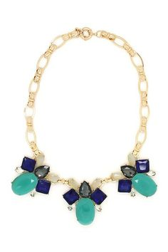 3 Teal My Neck Necklace by Eye Candy Los Angeles on @HauteLook