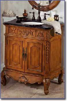 Bathroom Cabinets Victorian winslow small bathroom sink cabinet - sink cabinets - bathroom