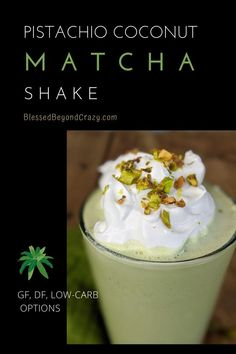 Pistachio Coconut Matcha Shake satisfies my dessert craving as well as any midday sweet tooth urges. It's ready in minutes and contains several healthy nutrients. Most importantly, this amazing shake can be made low-carb, gluten-free, and dairy-free. As a result, no one needs to miss out on the delightful goodness.