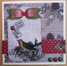Craftwork Cards: Christmas 6 X 6 papers