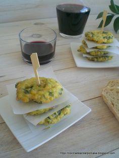 Cocina compartida: Tortillitas de acelgas (como me enseñó mi madre)