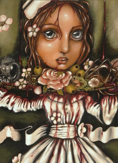 Angelina Wrona Angelina has been experimenting with various styles and media in her art for years. Earlier realist and folk art was rewa. Pop Surrealism, Canadian Artists, Over The Rainbow, Various Artists, Folk Art, Fantasy Art, Art Drawings, Princess Zelda, Gallery