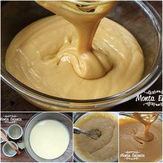 Doce de Leite no micro ondas, textura cremosa, sabor delicioso, ideal para rechear, bolos, tortas, pavês ou simplesmente devorar de colher! Prático, pá pum de fazer e sem sujeira na cozinha! Vem experimentar, vem: http://www.montaencanta.com.br/assim-q-faz-2/doce-de-leite-de-micro-ondas/