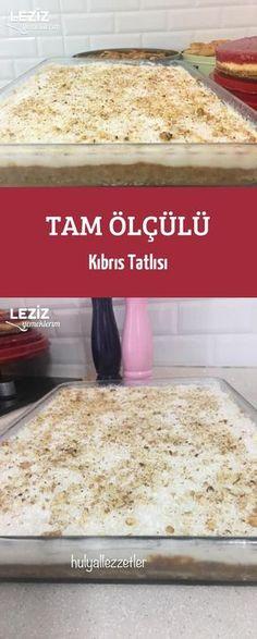 Tam Ölçülü Kıbrıs Tatlısı - Well Tutorial and Ideas Cookie Recipes, Dessert Recipes, Dessert Food, Tasty, Yummy Food, Vegan Cake, Confectionery, Themed Cakes, Cake Designs