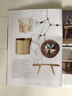 Place de Bleu, Satara Mole in Danish magazine Elle Decorations, 2014