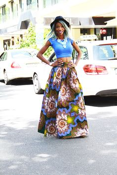 African print style