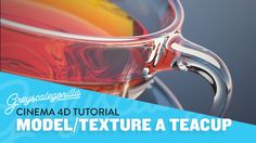 Learn To Model In Cinema 4D - Model Light And Add Glass Texture In Cinem...