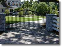 Kirby gate Fence Builders, Wrought Iron Fences, Gate, Deck, Outdoor Decor, Home Decor, Decoration Home, Portal, Room Decor
