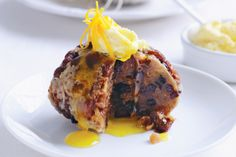 Christmas pudding with orange brandy butter http://www.taste.com.au/recipes/18668/christmas+pudding+with+orange+brandy+butter