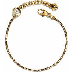 BRIGHTON JB2851 Mini Charm Bracelet GLD - GLD
