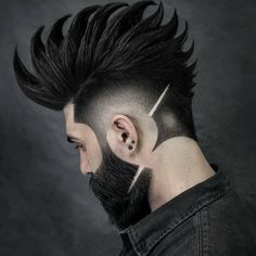 [New] The Best Hairstyles Today (with Pictures) - These are the 10 best hairstyles today. According to hairstyle experts, the 10 all-time best. Cool Hairstyles For Men, Creative Hairstyles, Hairstyles Haircuts, Haircuts For Men, Fade Haircut Styles, Hair And Beard Styles, Curly Hair Styles, Male Face Shapes, Gents Hair Style