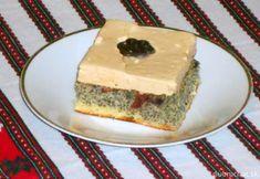 Fotorecept: Makový koláč s karamelovou šľahačkou Cheesecake, Desserts, Food, Basket, Tailgate Desserts, Deserts, Cheesecakes, Essen, Postres