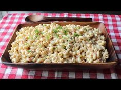Food Wishes Video Recipes: Classic Macaroni Salad – Delicious is In the Details (ingredients on blog)