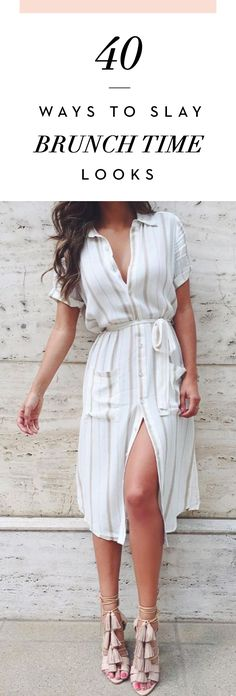 40 Ways To Slay Brunch Time looks