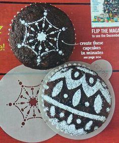 Cupcake decorating