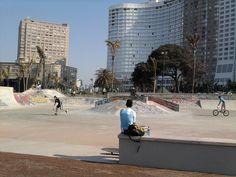 The Skate Park at North Beach North Beach, Skate Park, Playground, South Africa, Street View, Ocean, Magazine, City, Children Playground