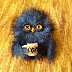 Купить С добрым утром! - комбинированный, сова, Совун, совинский, доброе утро, кофе