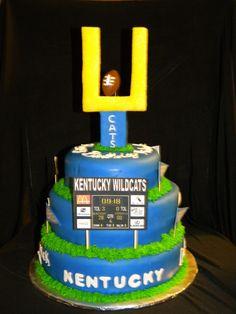 Kentucky Football Cake #Ultimate Tailgate and #Fanatics