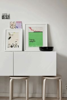 Tuesday Tips - Small spaces and stools  photo by Heikki Vahtola