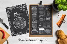 Creative and modern food menu template for your restaurant business.This template can be used for vintage menu, printable menu, wedding menu, restaurant menu, food menu inspiration. Menu Restaurant Design, Japanese Restaurant Menu, Restaurant Flyer, Restaurant Recipes, Fun Restaurants, Restaurant Identity, Cafe Branding, Restaurant Website, Restaurant Interiors