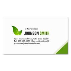 227 Best Journalist Reporter Business Cards Images