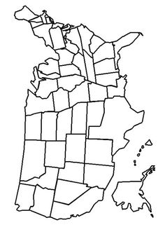 Print United States Map Coloring Page coloring page & book. Your own United States Map Coloring Page printable coloring page. With over 4000 coloring pages including United States Map Coloring Page . United States Map Printable, Us Map Printable, United States Outline, Free Poster Printables, State Outline, Printable Coloring Pages, States Visited Map, United States Travel, Us State Map