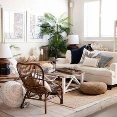 Interiors - White, Timber, Natural, Greenery