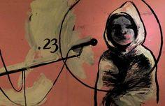 """Stefano Ricci per la prima volta mette in scena il suo lavoro con la collaborazione di Danio Manfredini, intitolato """"Più Giù"""" in cui disegnerà dal vivo sua madre Loredana, accompagnato da musicisti di chiara visibilità. Qui uno dei suoi disegni. #VIEFestival2016 #emiliaromagnateatro #stefanoricci #modena #bologna #carpi #vignola #illustrator #teatro #image #book #painting #draw"""