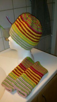 Lue med pulsvarmere Slip Stitch Crochet, Crochet Mittens, Crochet Hats, Dutch, Knitting, Dutch Language, Tricot, Crochet Gloves, Breien