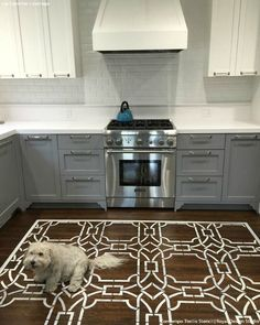 Hgtv Features Royal Design Studio Stencils  Wall Stenciling Inspiration Kitchen Stencil Designs 2018