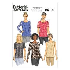 Butterick Pattern B6100 (16-18-20-22-24)