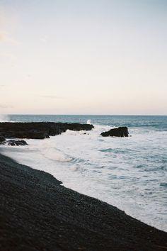 ICELAND. black sand=perfection
