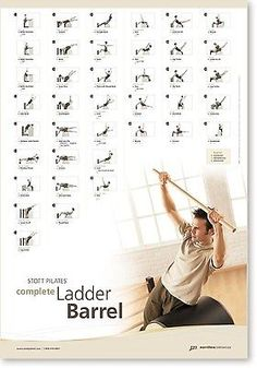 STOTT PILATES Bulwark Chart - Complete Ladder Barrel