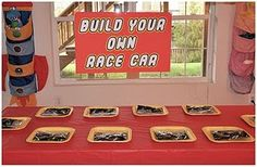 build their own lego cars and then race them!  Great birthday party idea especially for a winter party.
