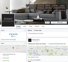 Social Media Setup by Toolkit Websites Social Media Services, Curtains With Blinds, Upholstery, Branding, Interiors, Facebook, Interior Design, Furniture, Home Decor