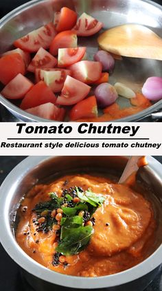 Easy to make restaurant style indian tomato chutney !! #tomatocuhtney #thakkalichutney #indianchutney Nutrition Tips, Health And Nutrition, Chutney Varieties, Tomato Chutney, Coconut Chutney, Ripe Fruit, Breakfast Menu, Chutney Recipes, Food Categories