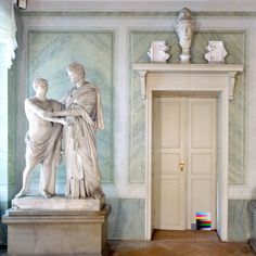 Schloss Tegel Interior, Schinkel - In 1766, the Jagdschloss Tegel (also Humboldt-Schloss) became the property of the Humboldt family. Today, besides the family dwelling, it also houses a Humboldt Museum in the Manor House - Tegel Palace, Adelheidallee 19, 13507 Berlin