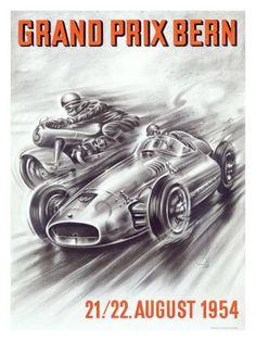 Bern Formula One Grand Prix Giclee Print
