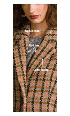 How to Sew a Notched Jacket Lapel - Threads. This tutorial helped me successfully execute a notched collar for the first time - from my own drafted pattern, too!